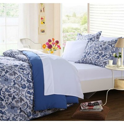 Affluence Home Fashions 5 Piece Reversible Bed-in-a-Bag Set