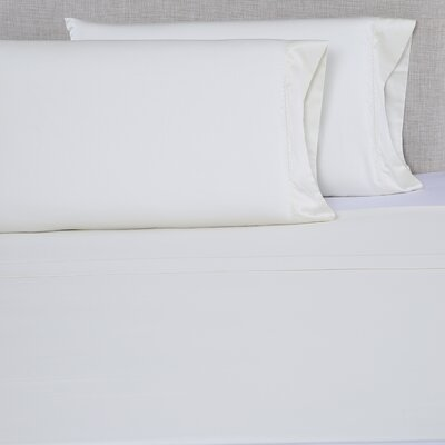 600 Thread Count Cotton Sheet Set Size: King, Color: Ivory/Ivory
