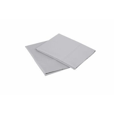 300 Thread Count Pillowcase Size: Queen, Color: Light Gray