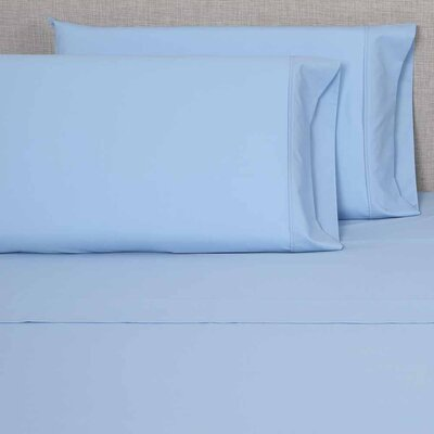 300 Thread Count Sheet Sets Size: Full, Color: Light Blue