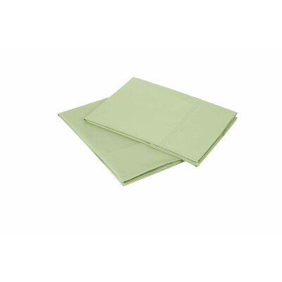 300 Thread Count Pillowcase Size: King, Color: Sage