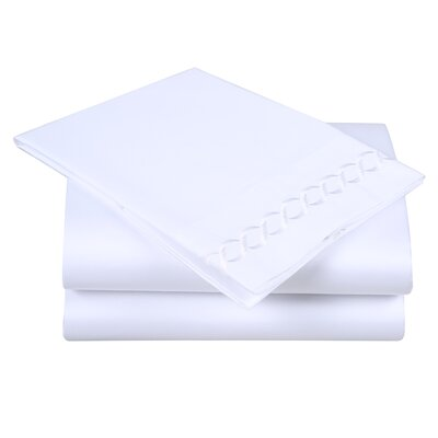 600 Thread Count Cotton Sheet Set Size: Queen