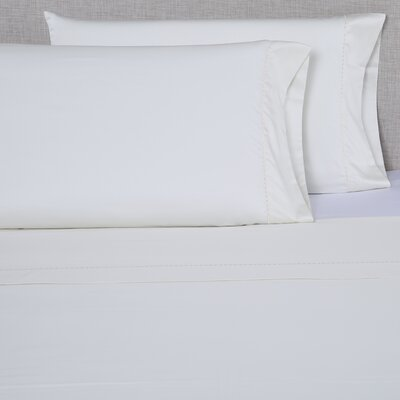 600 Thread Count Cotton Sheet Set Size: Queen, Color: White/Purple Grey