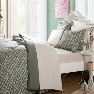 5 Piece Reversible Bed-in-a-Bag Set Size: Queen