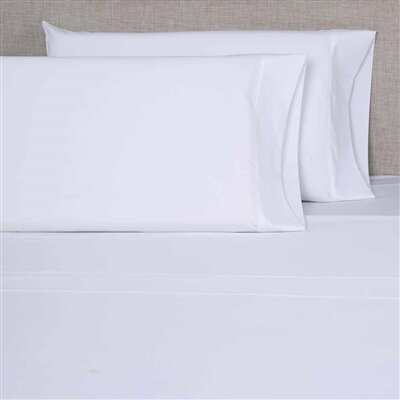 Hospitality 200 Thread Count Flat Sheet Size: Queen XL