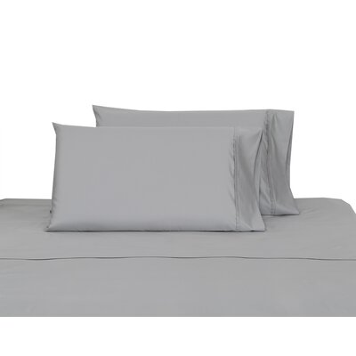 700 Thread Count 100% Cotton Sheet Set Color: Silver, Size: Queen