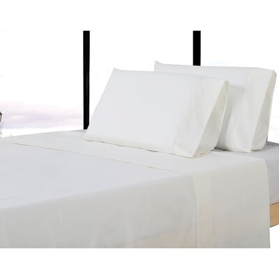 Sheet Set Color: Stark White, Size: Full