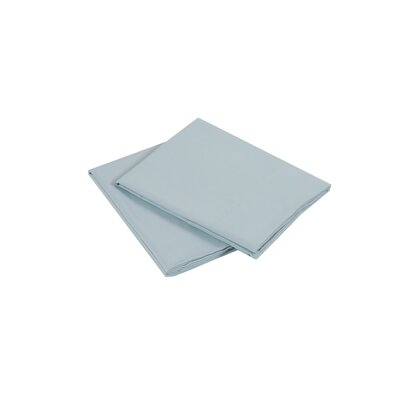 Luxury Microfiber Pillowcase Color: Sea Breeze, Size: Standard/Queen