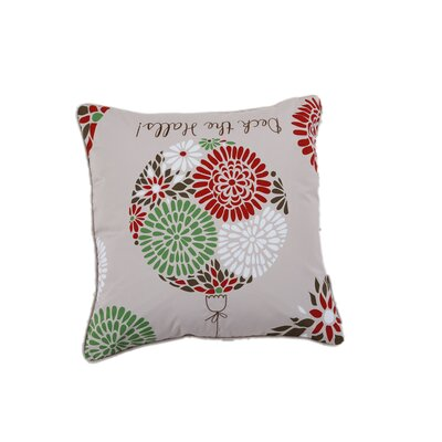 Deck the Halls Holiday Pillow Protector
