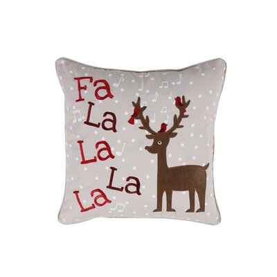 Reindeer Holiday Pillow Protector