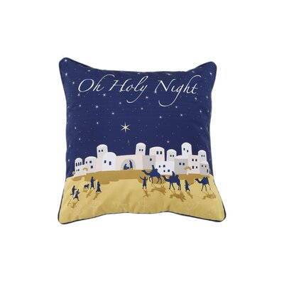 Manger Holiday Pillow Protector