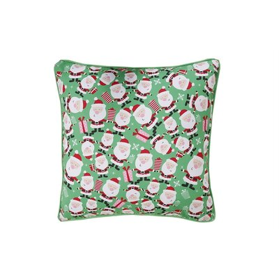 Santa Holiday Pillow Protector