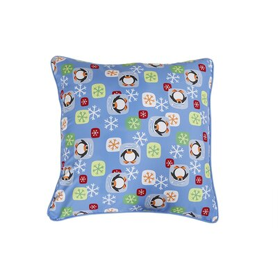 Penguin Holiday Pillow Protector