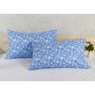 Snowflake Holiday Pillow Case
