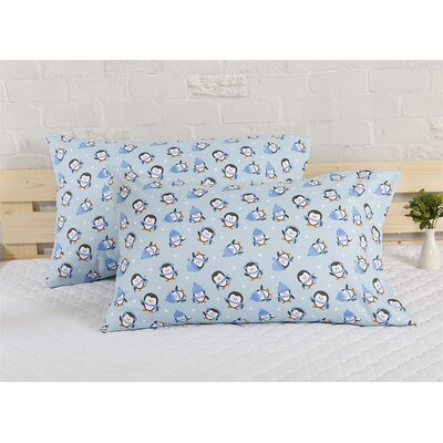 Penguin Holiday Pillow Case