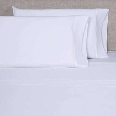 300 Thread Count Pillowcase Color: White, Size: King