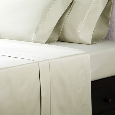 1000 Thread Count Cotton Sateen Sheet Set Color: Serenity Sage, Size: Full