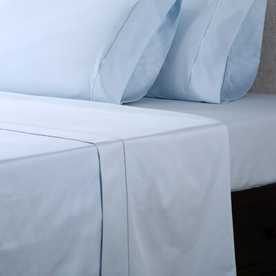 1000 Thread Count Cotton Sateen Sheet Set Color: Glacier Blue, Size: Queen