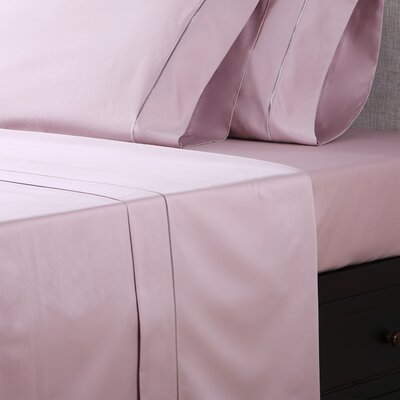 1000 Thread Count Cotton Sateen Sheet Set Size: Queen, Color: Blush