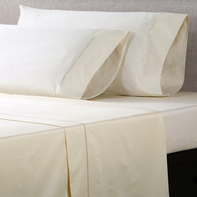 1000 Thread Count Cotton Sateen Sheet Set Color: Ivory, Size: Full