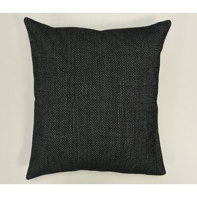 Kalish Pillow Cover Color: Black