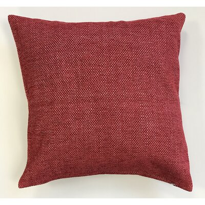Kalish Pillow Cover Color: Red