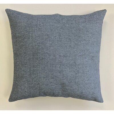 Kalish Pillow Cover Color: Blue Gray