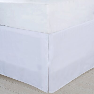 Bed Skirt Size: Twin, Color: White