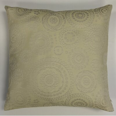 Sander Bohemian Woven Decorative Pillow Cover Color: Yellow