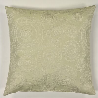Sander Bohemian Woven Decorative Pillow Cover Color: Sage