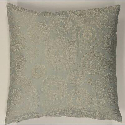 Sander Bohemian Woven Decorative Pillow Cover Color: Spa Blue