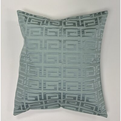Roles Crystal Woven Decorative Pillow Cover Color: Green