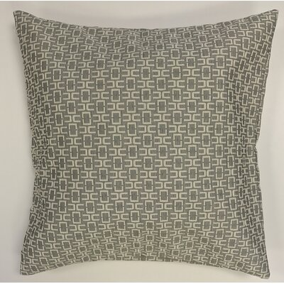 Alvaro Caper Woven Decorative Pillow Cover Color: Tan