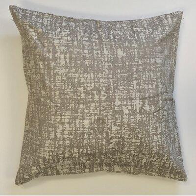 Wiley Woven Decorative Pillow Cover Color: Tan