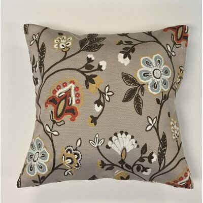 Piso Vine Woven Decorative Pillow Cover Color: Tan