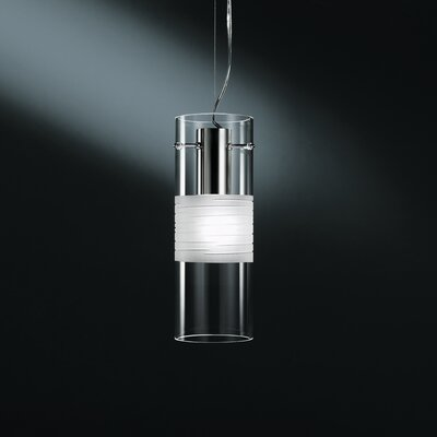Xilo Pendant Shade Color: Frosted, Size: 4