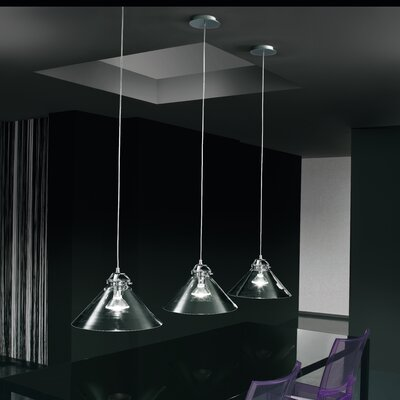 Tommy 1-Light Bowl Pendant Shade Color: Satin White