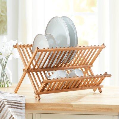 Wayfair Basics Wooden Dish Rack