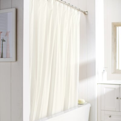 Wayfair Basics Vinyl Shower Curtain Liner Color: Bone