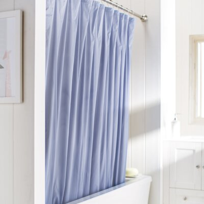 Wayfair Basics Vinyl Shower Curtain Liner Color: Slate