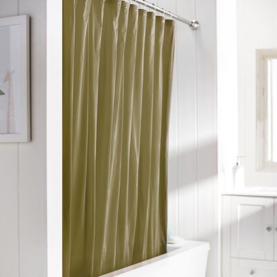 Wayfair Basics Vinyl Shower Curtain Liner Color: Gold