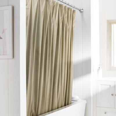 Wayfair Basics Vinyl Shower Curtain Liner Color: Linen