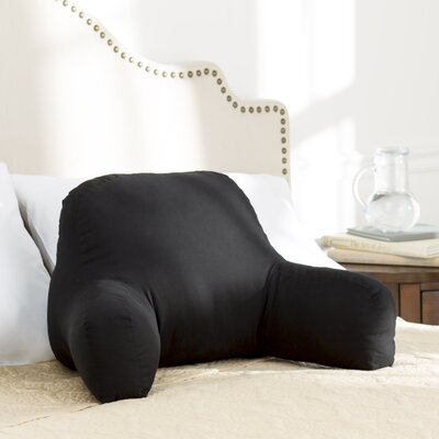 Wayfair Basics Bed Rest Pillow Color: Black