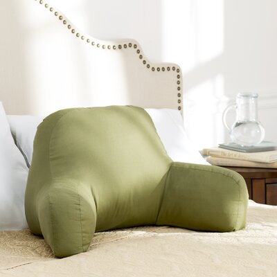 Wayfair Basics Bed Rest Pillow Color: Moss