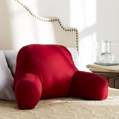 Wayfair Basics Bed Rest Pillow Color: Scarlet