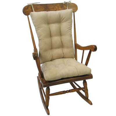 Wayfair Basics Rocking Chair Cushion Color: Stone