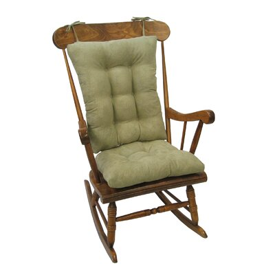Wayfair Basics Rocking Chair Cushion Color: Thyme