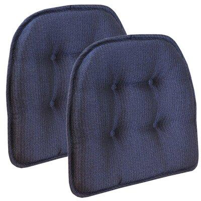 Wayfair Basics Tufted Gripper Chair Cushion Color: Grapemist