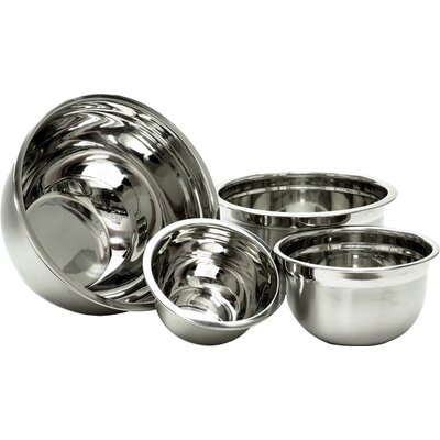 4-Piece Stainless Steel Mixing Bowl Set WFBS1133 25929716