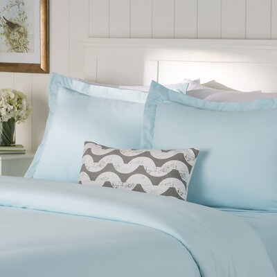 Wayfair Basics Duvet Set Size: King / California King, Color: Aqua